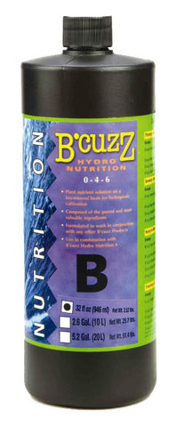 B'Cuzz Hydro Nutrition Component B 1L