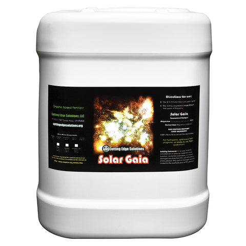 Cutting Edge Solar Gaia, 2.5 gal