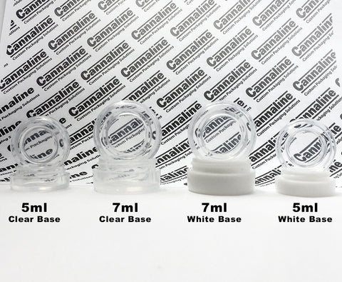 Ultra Clear 5ml Silicone Containers