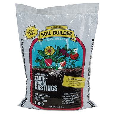Earthworm Castings, 4.5 lb