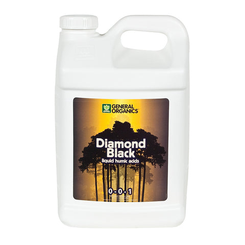 General Organics Diamond Black, 2.5 gal