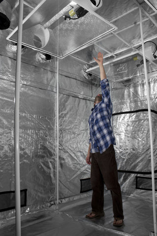 9' x 9' Gorilla Grow Tent (2 boxes)