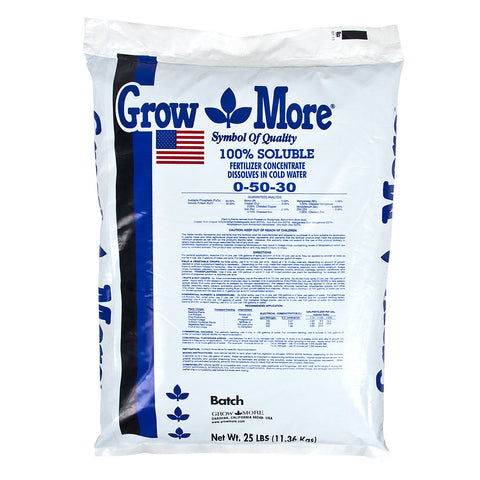 Grow More Flower Hardener, 25 lb