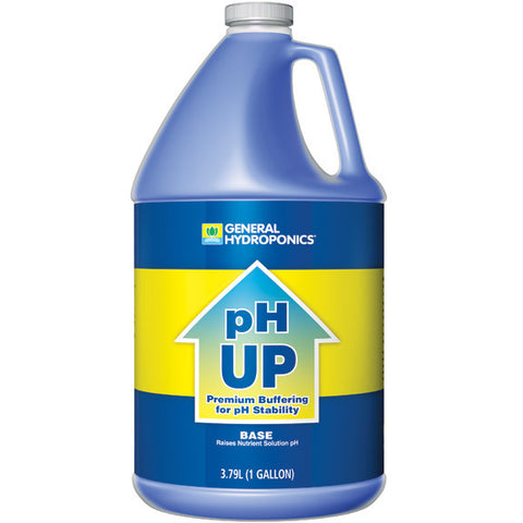 General Hydroponics pH Up, gal