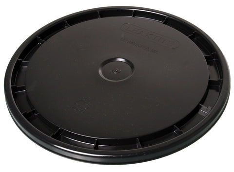 Bucket Lid, 5 Gallon, Black