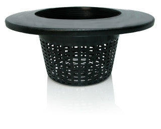 "Wide Lip Bucket Basket, 6"", case of 25"