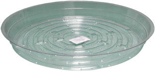Clear 10 inch Saucer, pack of 25