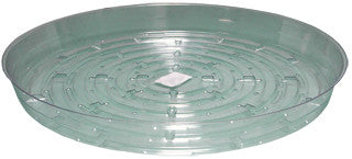 Clear 12 inch Saucer, pack of 10