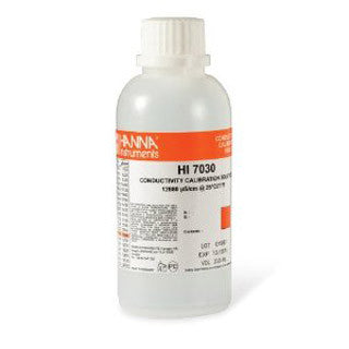 12880 S/ cm conductivity solution
