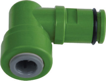 "Merlin-GP Eco-Green Drain Elbow 3/8"" QC SPO"
