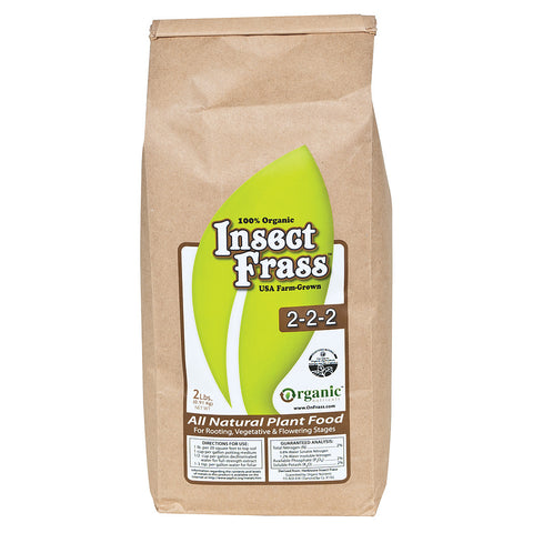 Insect Frass, 2 lb