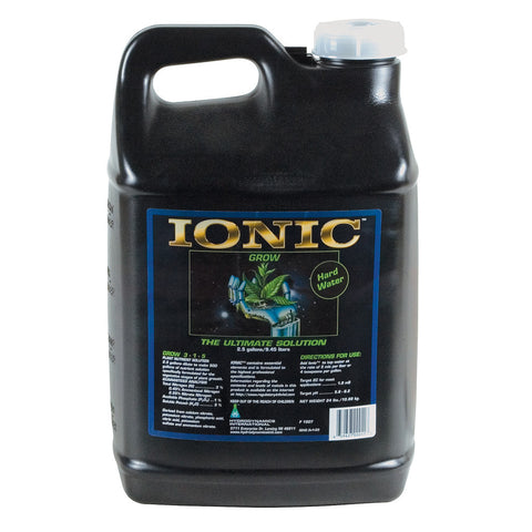 Ionic Grow Hardwater, 2.5 gal