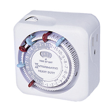 Intermatic Timer Mechanical, 15A/120V