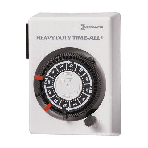 Intermatic Timer Mechanical, 20A/240V