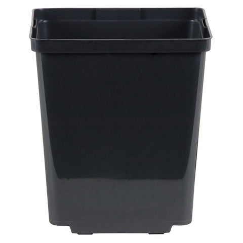 Kord Square Pot Black, 5.5""