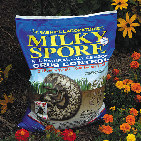 Milky Spore Lawn Spreader Mix, 20 lb