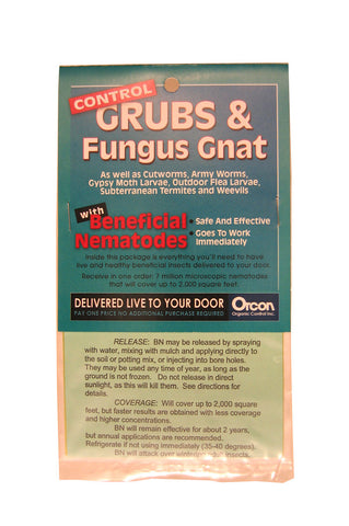 Beneficial Nematodes Mail-Back *Discontinued *In-Stock