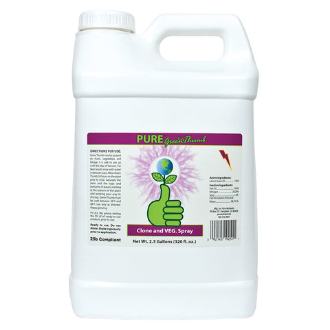 Pure Green Thumb RTU, 2.5 gal