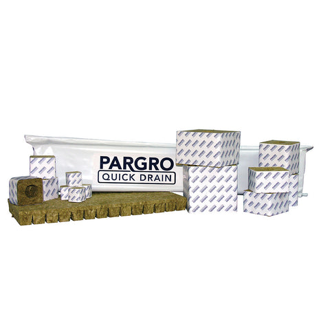 "Pargro QD Block No Hole  3""x2.5"" 8 Pack"