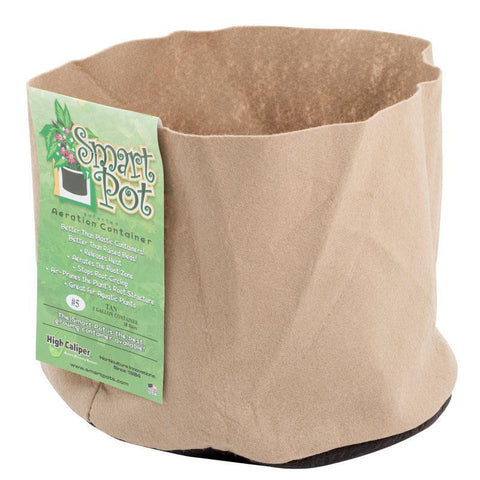 "2 Gallon Smart Pot 8x7"" TAN"