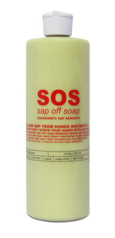 Sap Off Soap (SOS), 16 oz