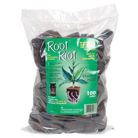 Root Riot Cubes, 100 Pack