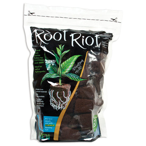 Root Riot Cubes, 50 Pack