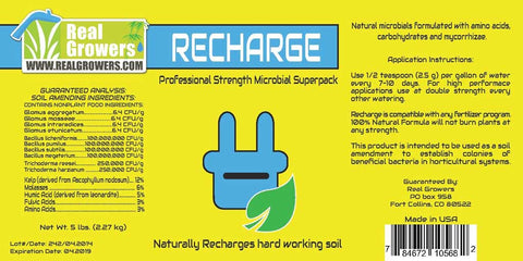 Recharge Microbial Superpack, 25lbs