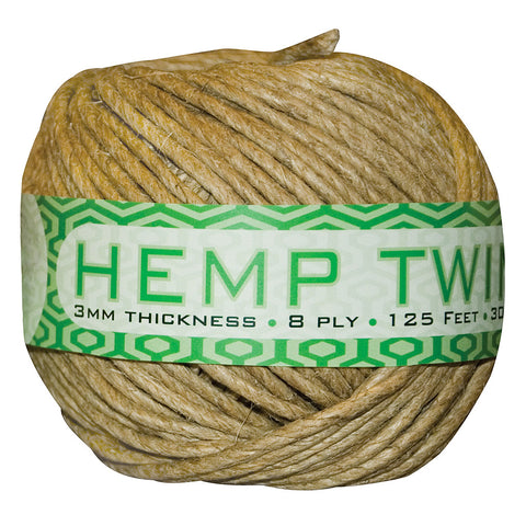 Smart Support Hemp Twine, 3 mm, 125'