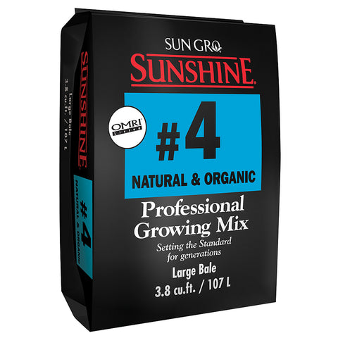 Sunshine Mix #4 Natural & Organic, 3.8 cu ft