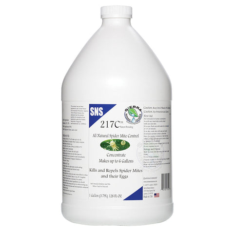 SNS 217C Mite Control Concentrate, gal