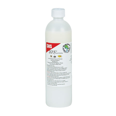 SNS 203 Conc. Pesticide Soil Drench/Foliar Spray Pint