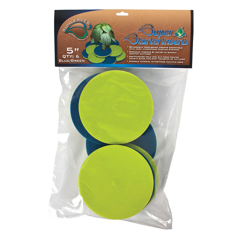 "Super Starter Insert, 5"", Blue/Green, 6 Pack"