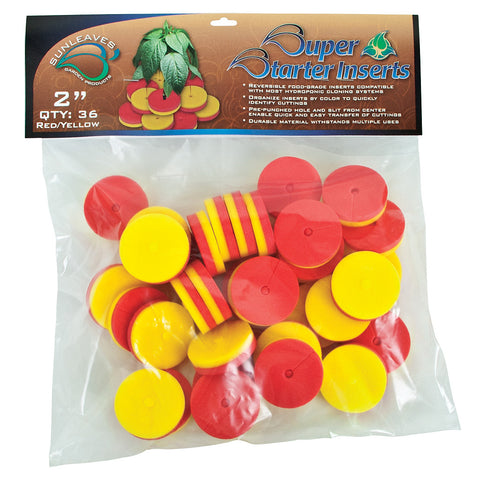 "Super Starter Insert, 2"", Red/Yellow, 36 Pack"