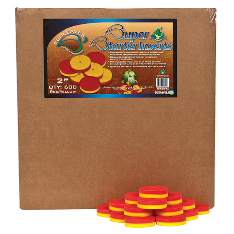 "Super Starter Insert, 2"", Red/Yellow, 600 Pack"