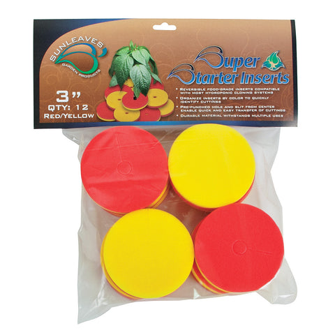 "Super Starter Insert, 3"", Red/Yellow, 12 Pack"