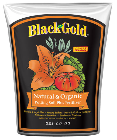 Black Gold all Organic soil 16qt