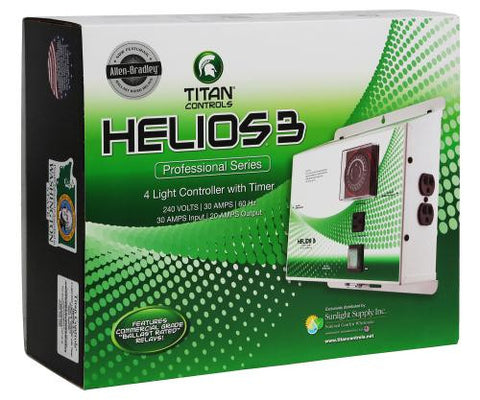 Titan Controls® Helios® 3 - 4 Light 240V Controller with Timer