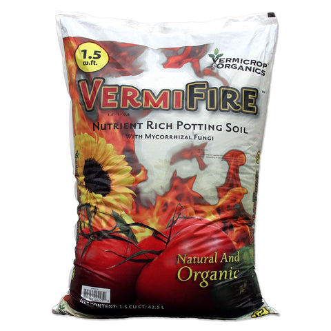 VermiFire Potting Soil, 1.5 cu ft