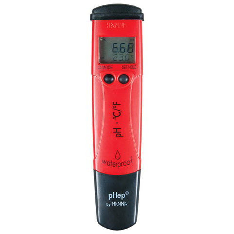Waterproof pH Tester