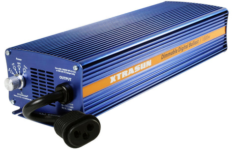 Xtrasun 1000W Digital Ballast, 120-240V Dimmable