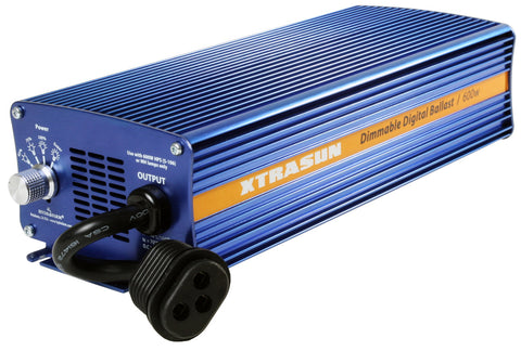 Xtrasun 600W Digital Ballast, 120-240V Dimmable
