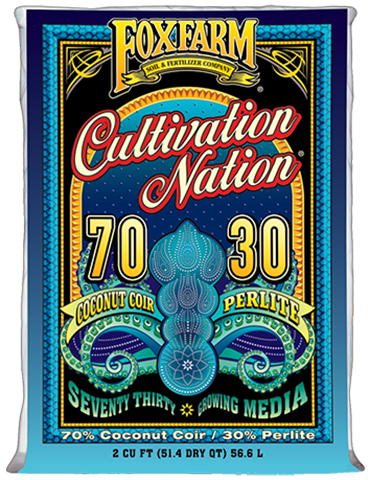 Cultivation Nation 70/30 Coconut Coir & Perlite, 2 cu ft *Special Sale*