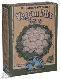 Down To Earth Vegan Mix 5lb