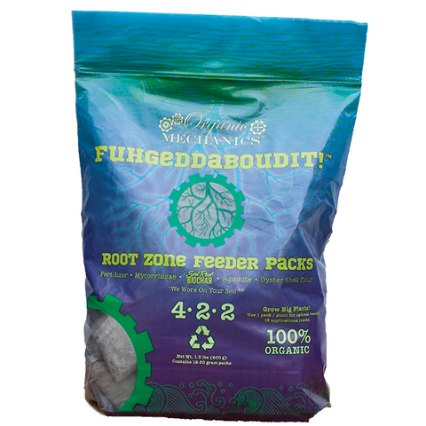 Organic Mechanics Fuhgeddaboudit! Root Zone Feeder Packs