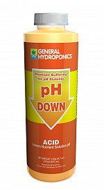 General Hydroponics pH Down,1 qt