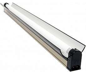 Jump Start T5 54W 4' Strip/Reflector Fixture with Lamp, for Modular Systems