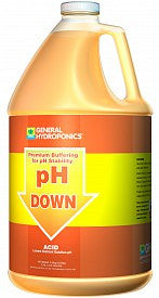 General Hydroponics pH Down, 1 gal