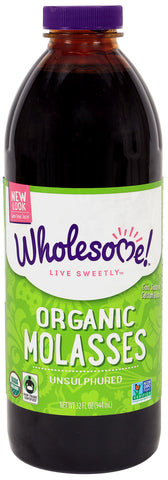 Wholesome Sweetener® Organic Molasses 32 oz.