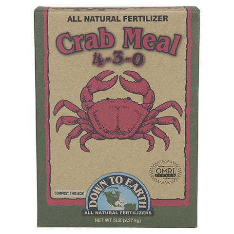 Down To Earth Crab Meal 5lb